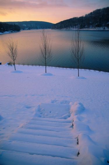 snowonlake