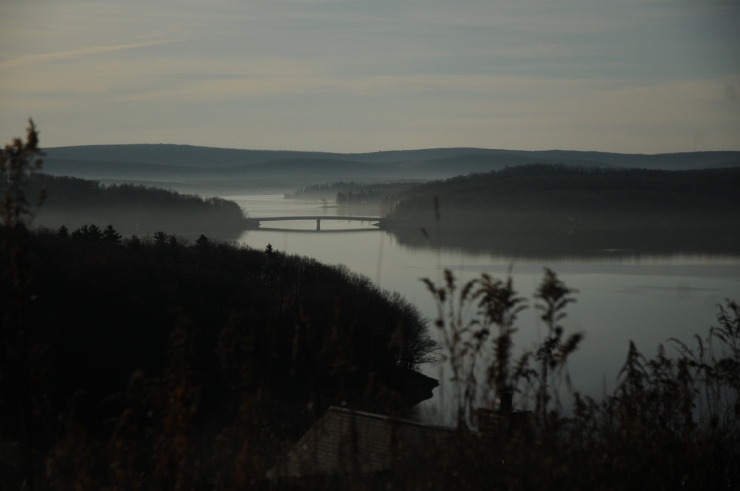 Photo taken above Deep Creek Lake, November, 2009