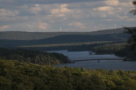 Same view of Deep Creek Lake taken in September 2010
