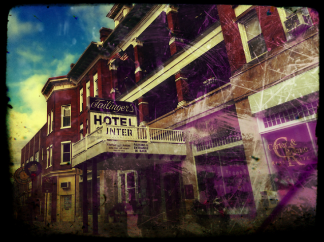 Hotel in Frostburg, MD by Rob Paine