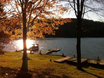 W deep creek lake autumn Rob Paine