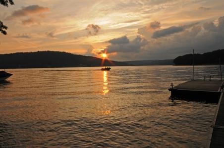 7. Sunset Motor Boating