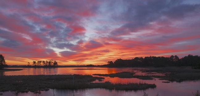 web sunrise chincoteague