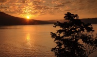 Sunrise over Deep Creek Lake by Rob Paine
