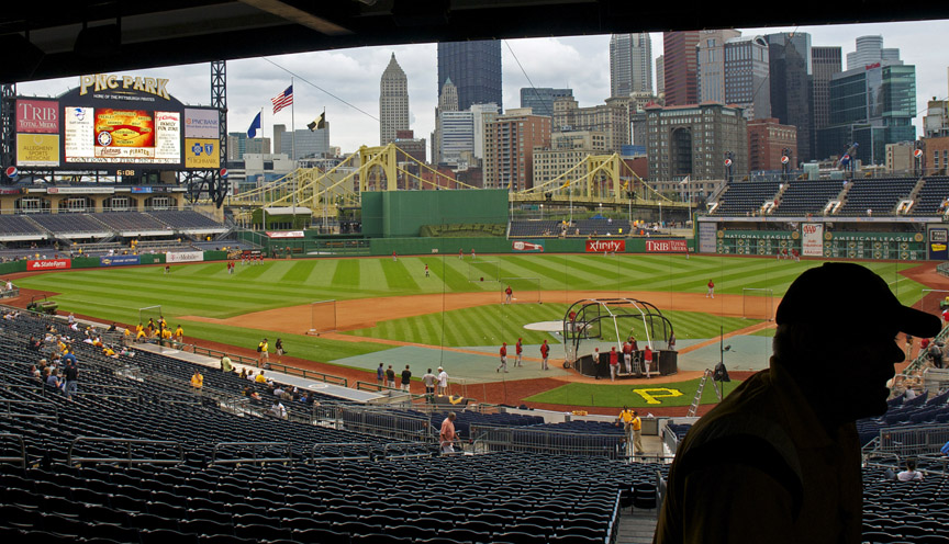 PNC Park Before the Game Rob Paine