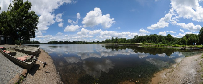 lake brittle panorama