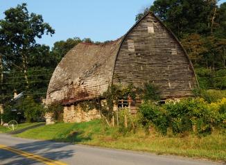The Barn in September 2013