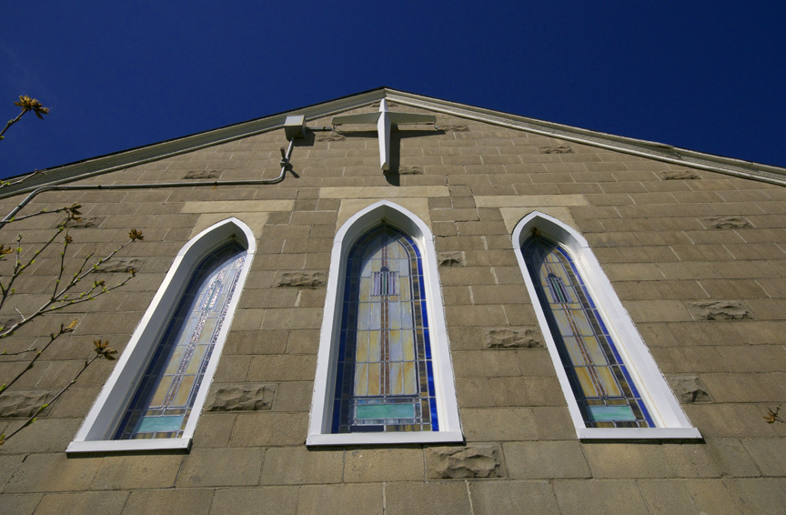 web country church