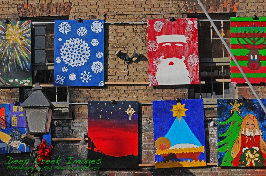 rob paine christmas wall art