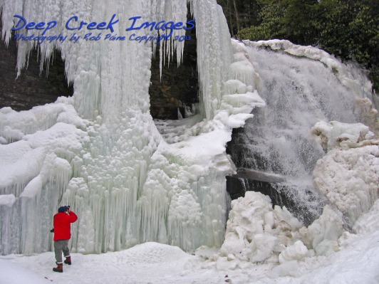 rob paine deep creek lake winter six