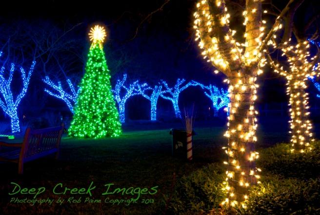 web lights four