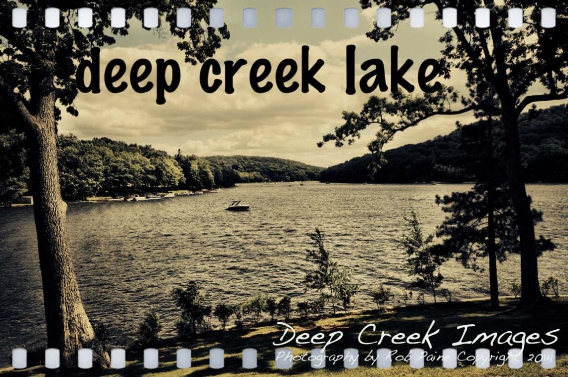 deep creek lake view