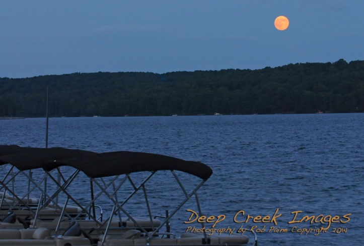 big moon rob paine deep creek lake