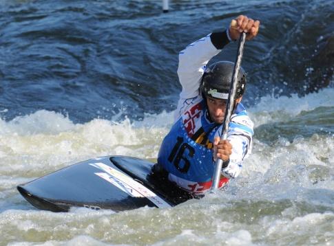 Men's Champion Fabien Lefevre of the USA< Photo by Rob Paine/Deep Creek Images/Copyright 2014