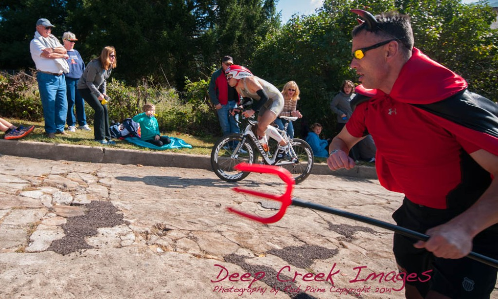 Heard of running with the devil? In Westernport you get to bike with the devil.