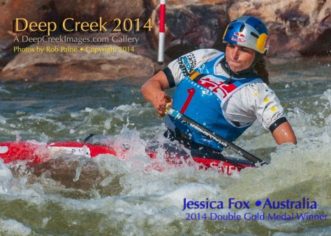 Jessica Fox, Australia, Photo by Rob Paine/Deep Creek Images/Copyright 2014