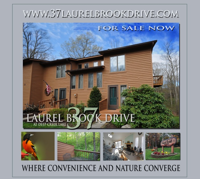 clock on photo to reach home page for 37 Laurel Brook Drive