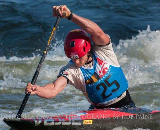 American Casey Eichfeld is shown during competition at Deep Creek 2014 in McHenry, Md Photo by Rob Paine/Deep Creek Images/Copyright 2014