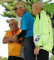tom tobias, left on medals stand after getting a silver in.20k by Rob Painejpg